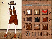 Cowgirl look dress up