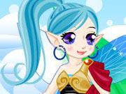 Fairy wings dress up game